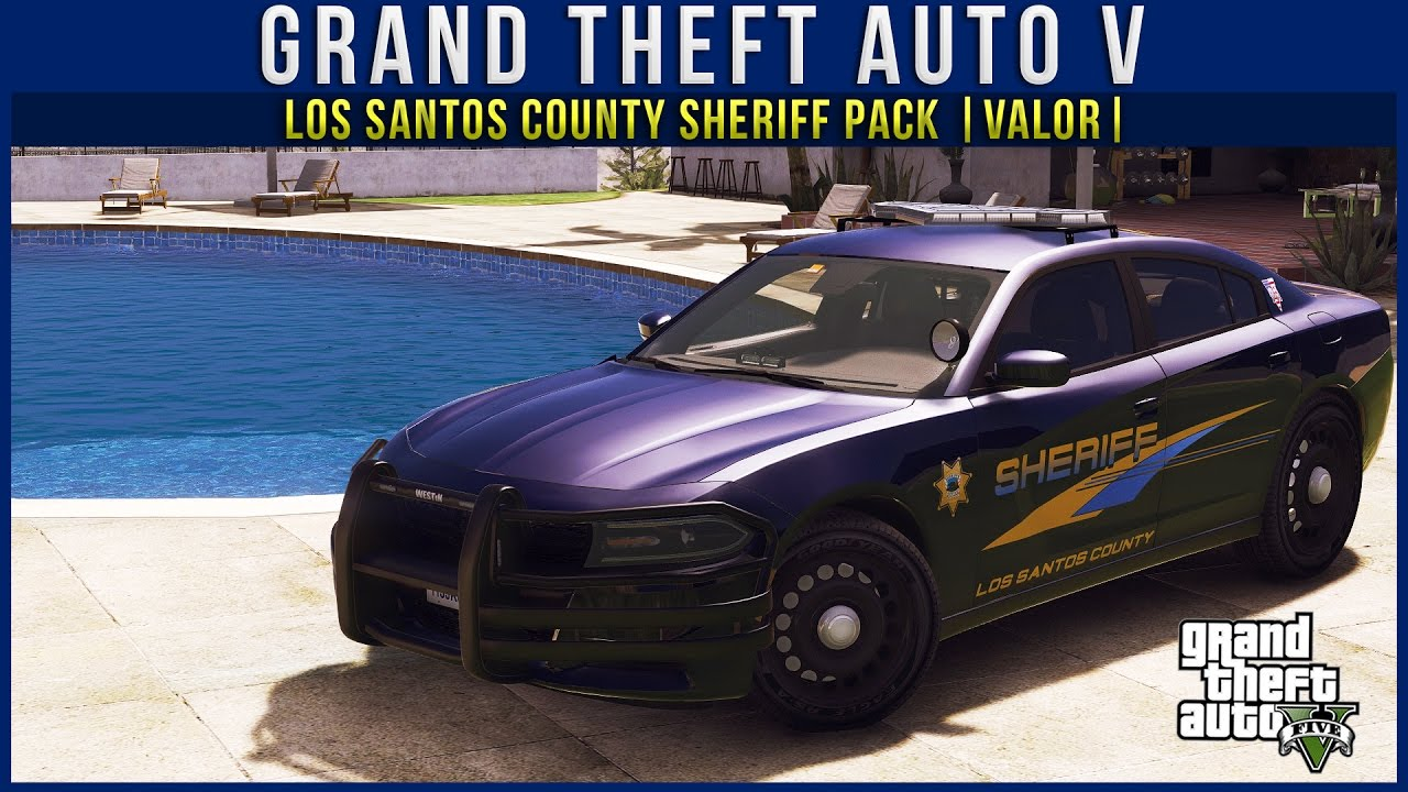 GTA V | Los Santos County Sheriff Pack |Valor|