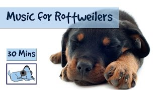Relaxing Rottweiler Music! Music Specially Designed to Relax Rottweilers!