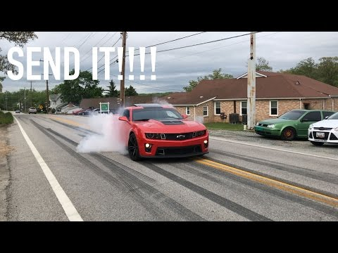 CRAZY CAR MEET = CRAZY BURNOUTS!!