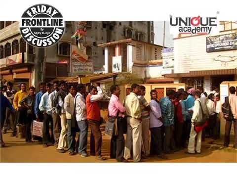 Job Crisis In India - Frontline Discussion For UPSC/MPSC Students