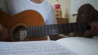 Nếu Một Mai Cha Không Trở Về - Guitar đệm hát [HD]