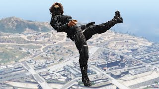 GTA 5 Epic Ragdolls Episode 16 - Directed by Swixtor