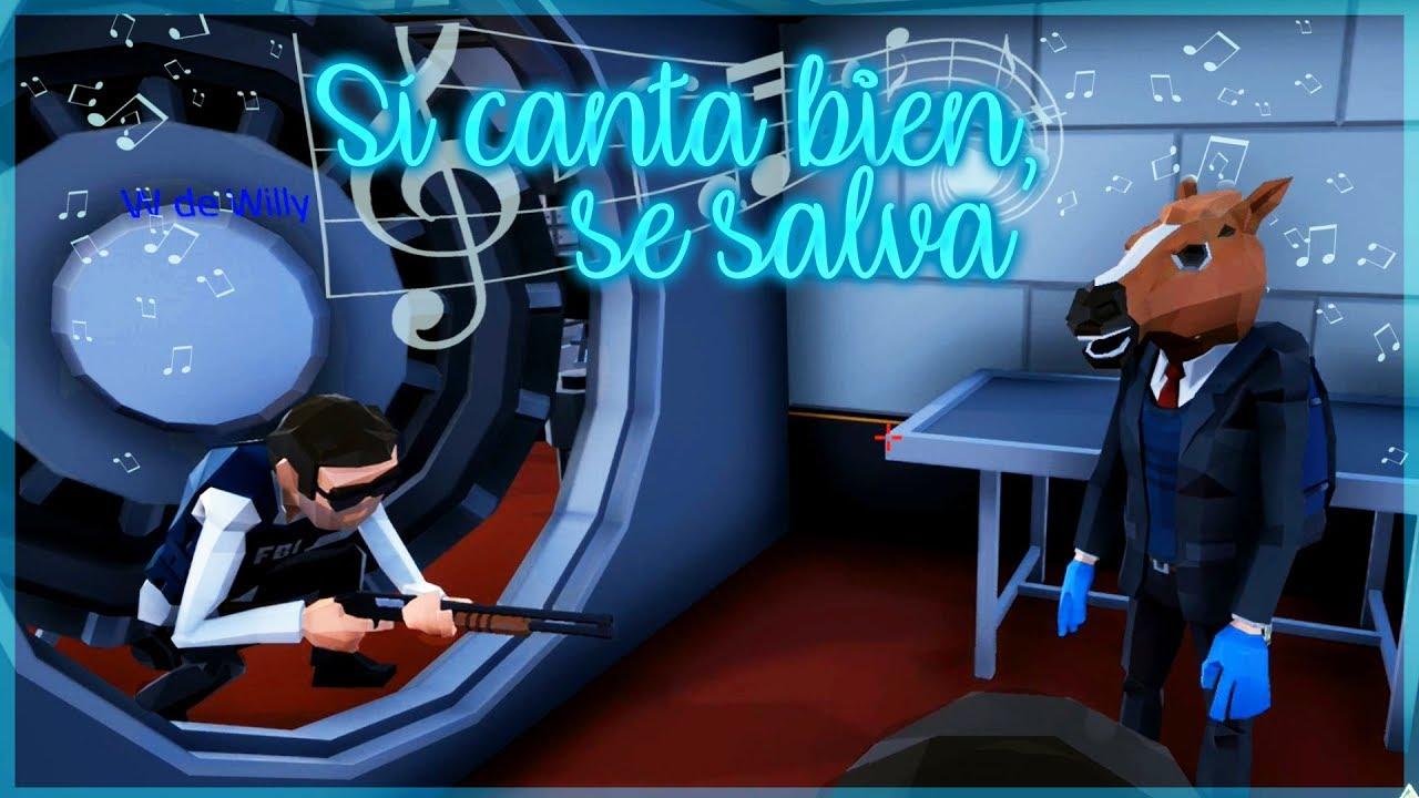 SI CANTAS TE SALVAS - PERFECT HEIST WILLY Y ANGEL VS VEGETTA Y FARGAN