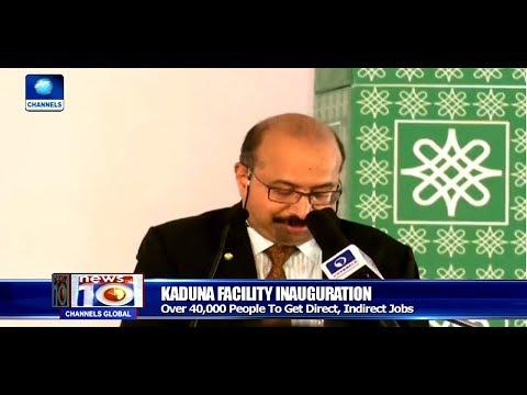 Pres. Buhari Visits Kaduna, Inaugurates $150m Feed Mill Pt.3  News@10  12/09/17