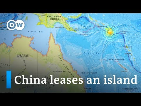 Why is China leasing Tulagi in the Solomon Islands? | DW News