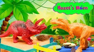 Dinosaur Zoo | Learn Dinosaurs | Educational Toddler Video
