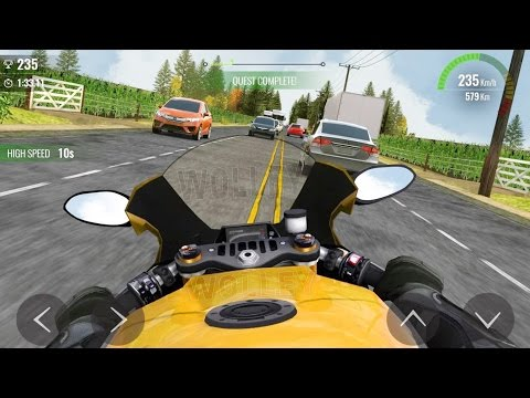 Moto Traffic Race 2 - All Bikes FULL Upgrade! - Android Gameplay HD - Extreme Bike Racing Kids Games