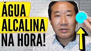 NEM TODA ÁGUA É SAUDÁVEL - TOME ÁGUA ALCALINA! | Dr. Peter Liu