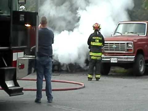 Ruckersville Car Fire