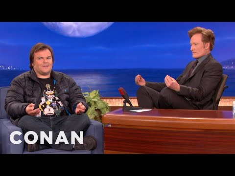 Jack Black Will Do Anything To Get Into Hebrew School - CONAN on TBS