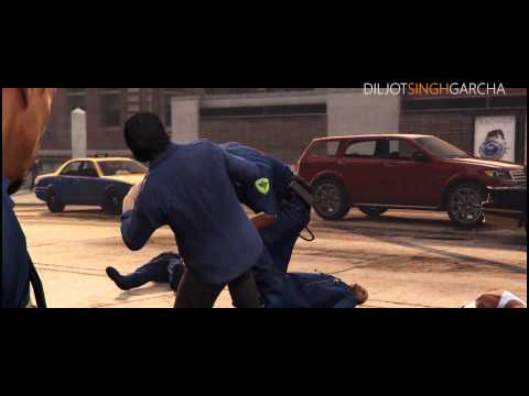 Jatt Fire Karda GTA 5 - Diljit Dosanjh ft. Diljot Garcha