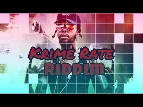 Dancehall Riddim Instrumental - Krime Rate Riddim October (2017)