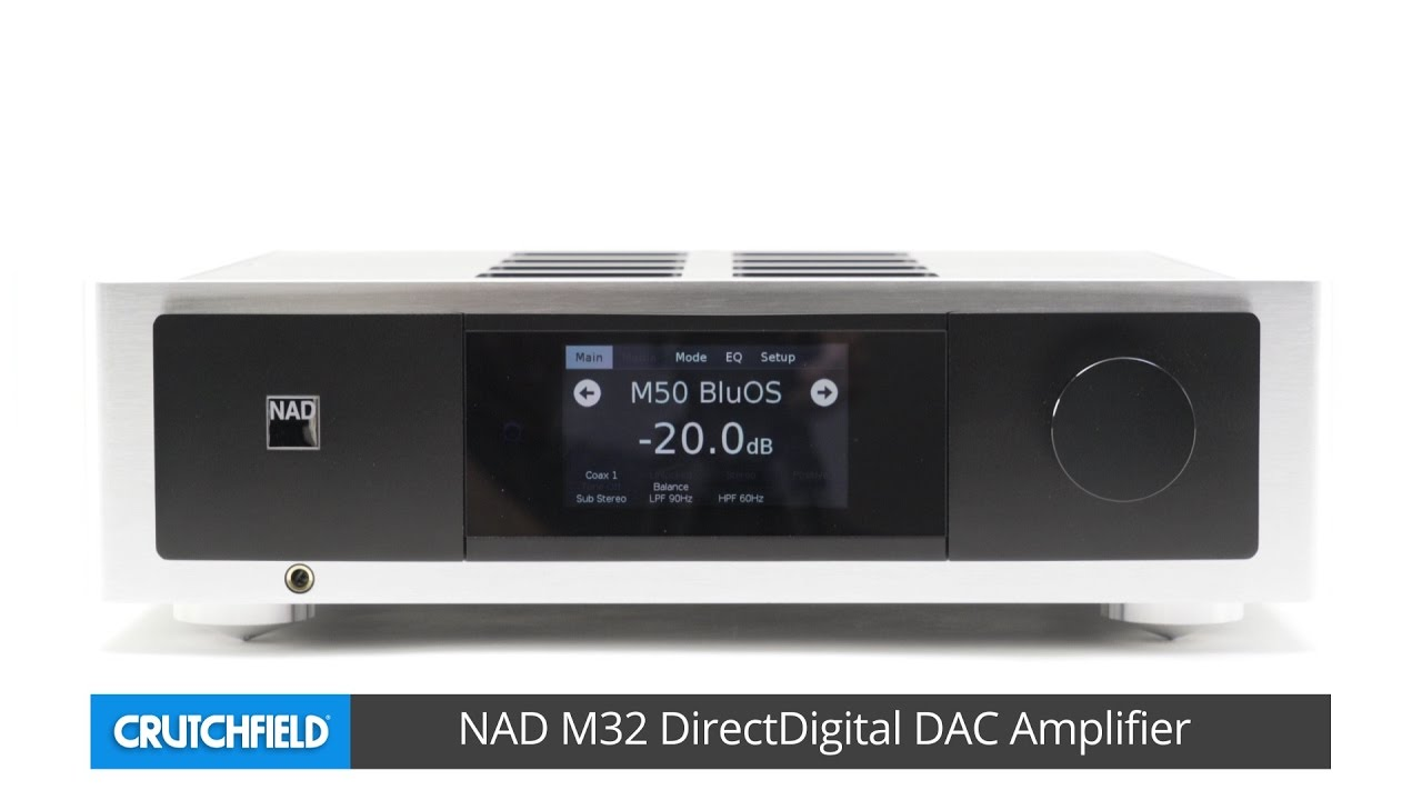 NAD M32 Masters Series stereo integrated amp | Crutchfield video