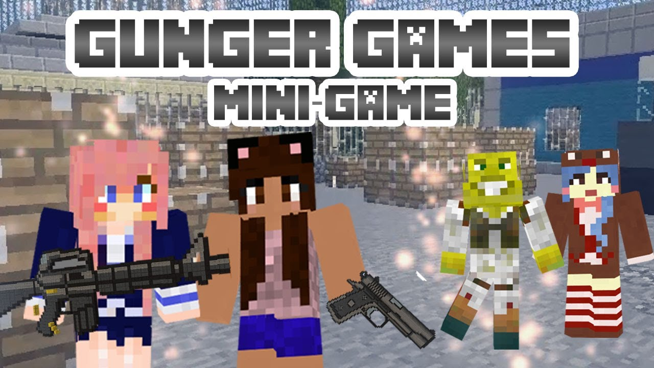GUNGER GAMES | Minecraft Mini Game | With Friends - Come play with us! Server IP: hub.MineVine.net
