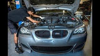 BMW E60 M5 Throttle Actuators Replacement + Organizing Shop