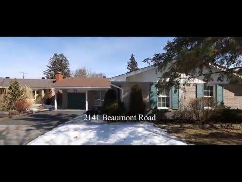 2141 Beaumont Road Ottawa Ontario - Alta Vista 4 Bedroom Bungalow For Sale w Main Floor Family room.