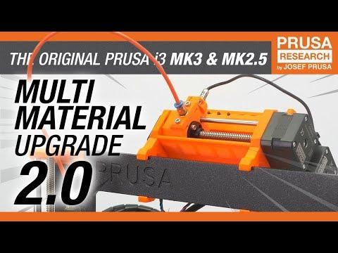 Original Prusa i3 Multi Material upgrade 2.0 - RELEASE!