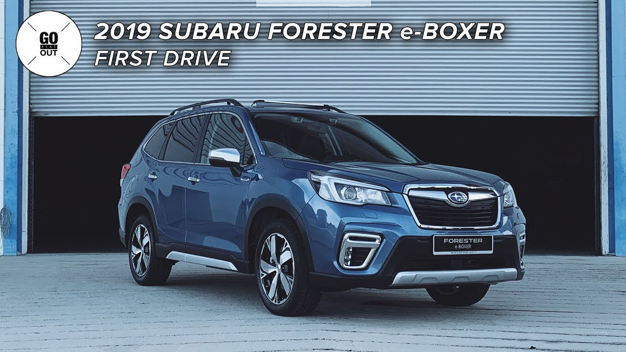 2019 Subaru Forester E Boxer Hybrid First Impressions Youtube