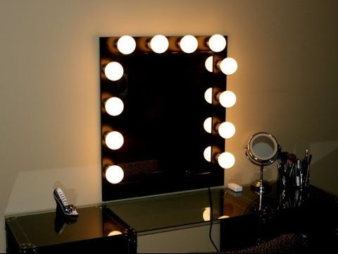 Hollywood vanity mirror with lights youtube hollywood vanity mirror with lights mozeypictures Gallery
