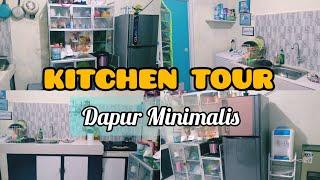KITCHEN TOUR DAPUR MINIMALIS 🌿|| DAPUR SEDERHANA BIKIN NYAMAN || Hometour Indonesia ✨