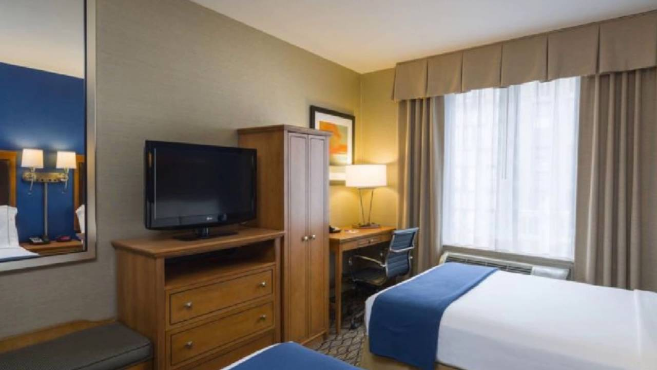 Holiday Inn Express Madison Square Garden New York USA YouTube