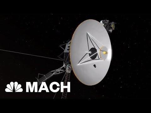 Celebrating The 40th Anniversary Of NASA's Voyager Spacecrafts | Mach | NBC News