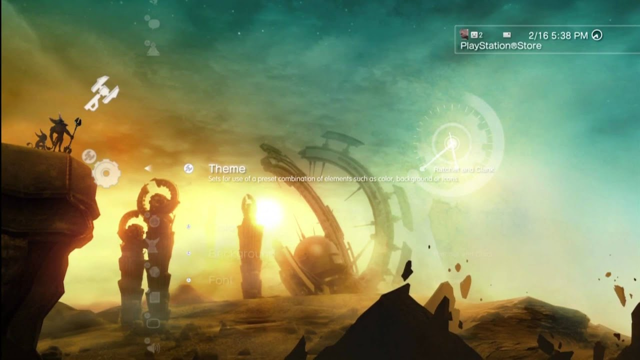 ps3 dynamic themes youtube