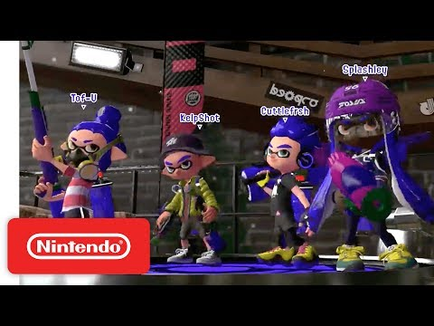 2017 Splatoon 2 World Inkling Invitational - Round Robin - Part 1 - Nintendo E3 2017