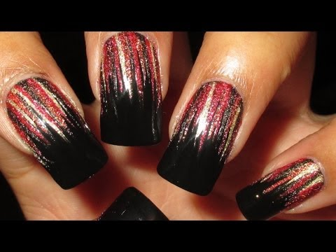 harvest waterfall nail art tutorial