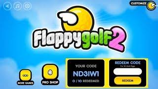 FLAPPY GOLF 2 - HELP ME GET GOLD EGGS PLEASE REDEEM MY CODE!!!