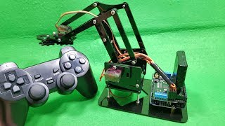 Build A Acrylic RC Robot Arm With DIY KIT