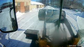 Чищу снег! WZ 3025