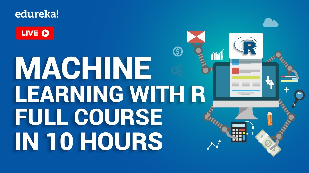 Machine Learning With R Full Course | Machine Learning Tutorial For Beginners