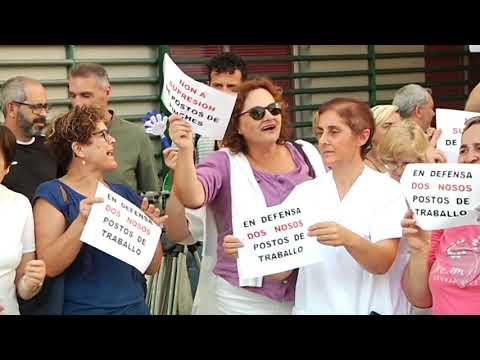 La comisión de centro del CHUO protesta por los despidos en cocina 21 8 19