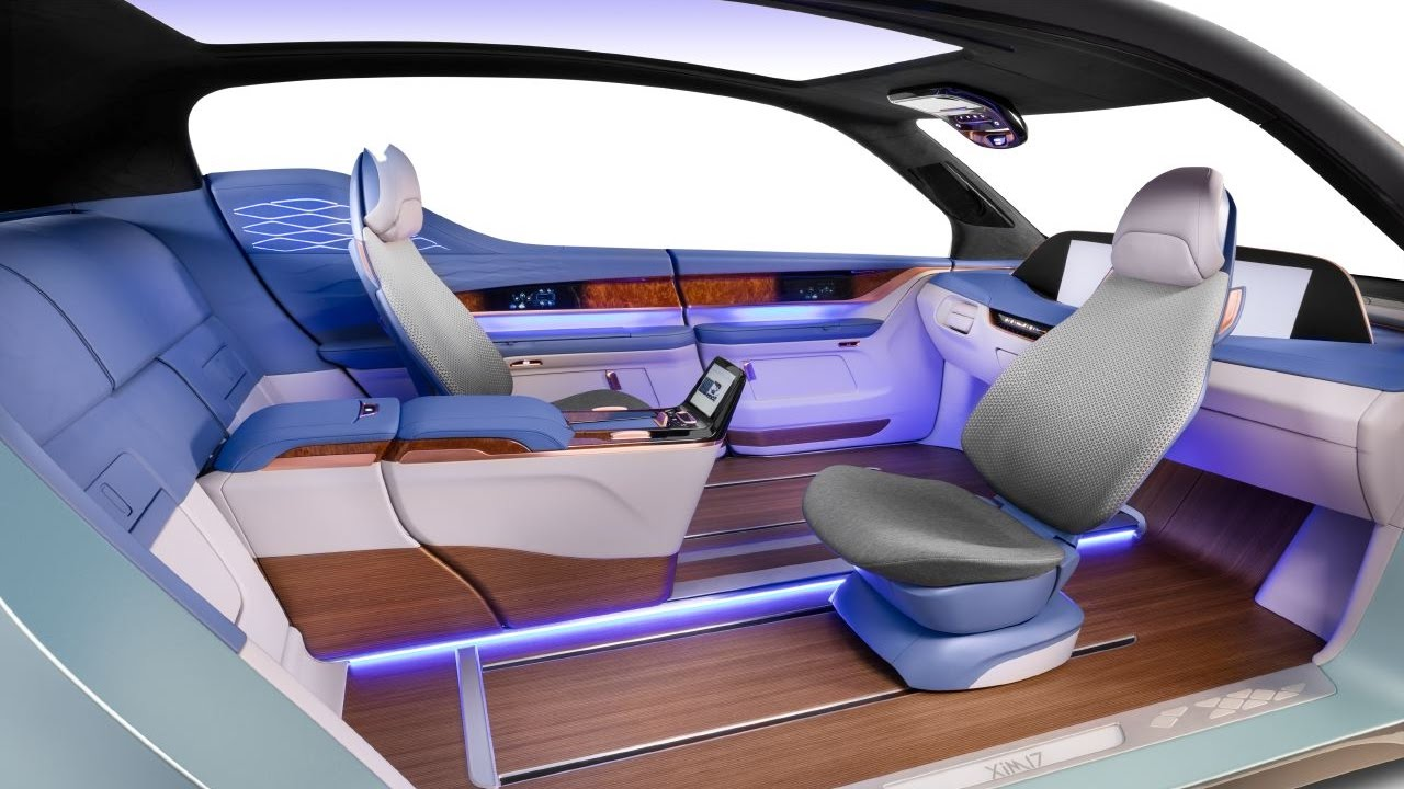 Yangfeng automotive interiors xim17 autonomous vehicle - What degree do interior designers need ...