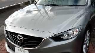 Mazda NEW Mazda6 XD Clean Diesel Atenza Skyactiv-D 2.2 test drive