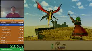 Wild ARMs 3 any% speedrun in 9:33:40