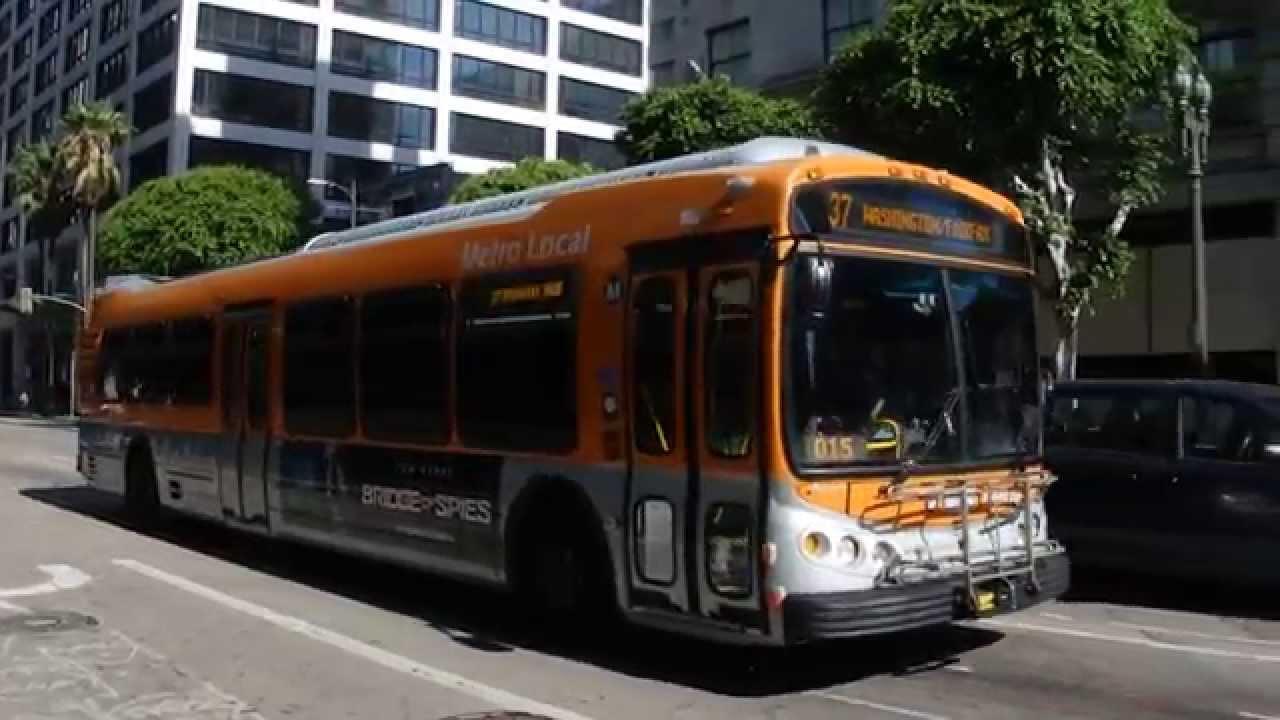 Lacmta Metro Bus 2011 Nabi Metro 45c Cng Quot Compo Bus Quot 8457