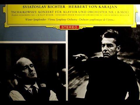 Tchaikovsky / Richter / Von Karajan, 1962: Piano Concerto No. 1 in B-flat minor Op. 23