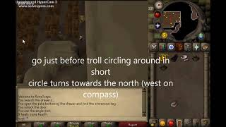 OSRS: Eadgars Ruse Troll Part/goutweed how to