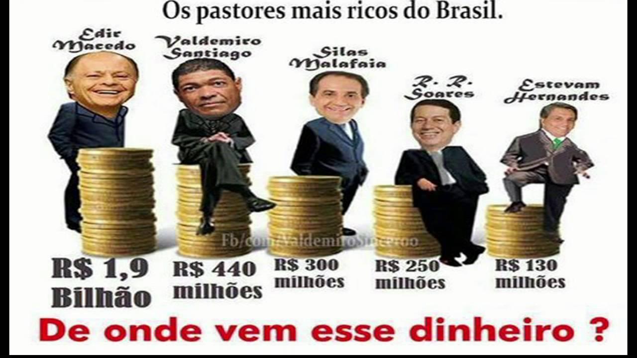 Resultado de imagem para pastores mais ricos do brasil