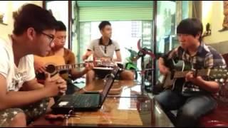 đừng quên anh guitar cover - Gia Châu
