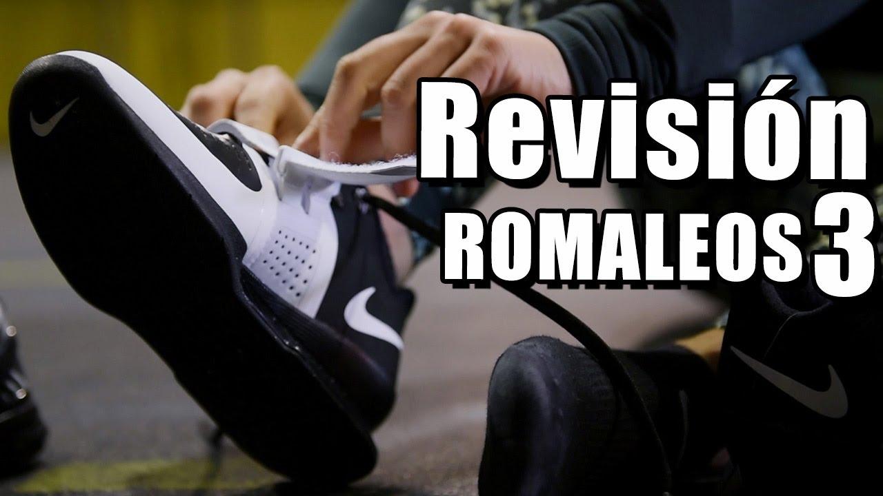 the best attitude 1caab 1ef2c Revisión Nike Romaleos 3