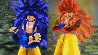 Goku SSJ,SSJ2,SSJ3,SSJ4,SSJ5 And SSJ6,SSJ7! *REMAKE* | DBZ Tenkaichi 3 (MOD)