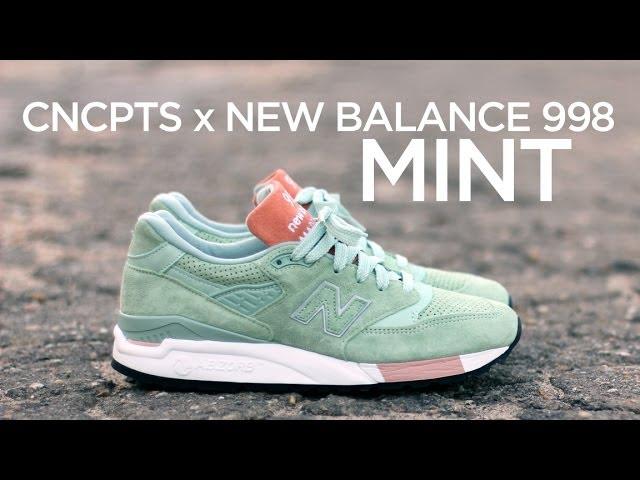 Closer Look: Concepts x New Balance 998