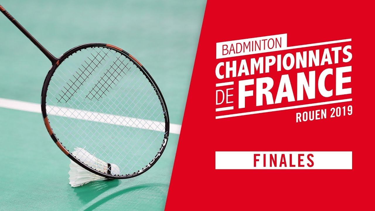 Championnats de France de Badminton 2019 - Finales