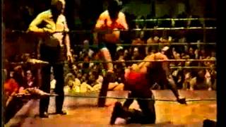1980 Sonny King vs Bill Dundee Louisville Gardens MEMPHIS WRESTLING