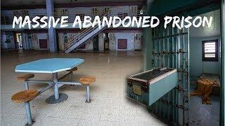 EXPLORING MASSIVE ABANDONED PRISON *MISTREATED INMATES*