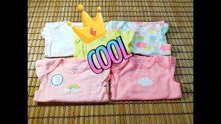 Обзор одежды Картерс Carters бодики для девочки на 1 год