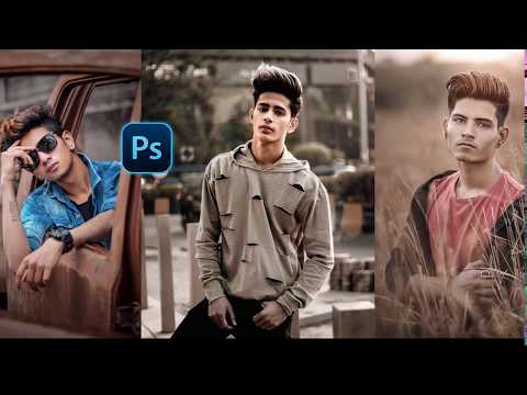 Moody  & Brown effect   Photoshop Color Grading Tutorial thumbnail
